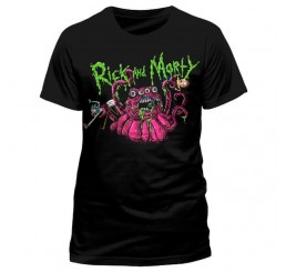 Rick and Morty Monster Slime T-Shirt