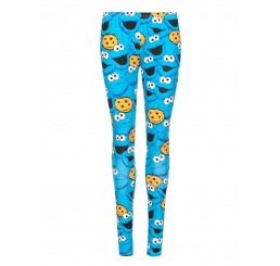 Sesame Street Cookie Monster Leggings