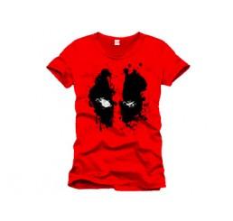 Marvel Deadpool Splash Head T-Shirt