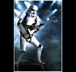 Star Wars Stormtrooper Guitar Poster