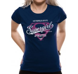 Supergirl Athletics Fitted T-Shirt