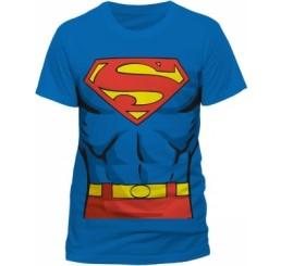 Superman - Superman's Body Blue T-Shirt