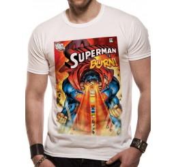 Superman Burn T-Shirt DC Comics