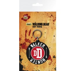 Walking Dead Daryl Dixon Walker Hunter Rubber Keyring