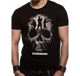 Walking Dead Skull figures T-shirt