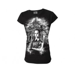 Darkside Clothing Wednesday Addams Ladies T-Shirt