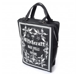 Poizen Industries Witchcraft Book Of Shadows Hand Bag
