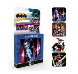 DC Comics Coaster 4-pack Harley Quinn