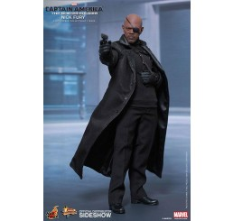 Hot Toys Captain America: The Winter Soldier - Nick Fury Movie Masterpiece Action Figure 1/6