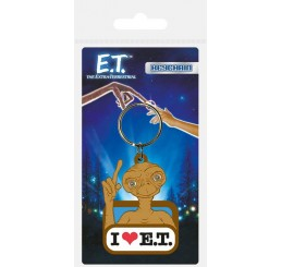 E.T. the Extra-Terrestria Rubber Keychain I Love E.T.