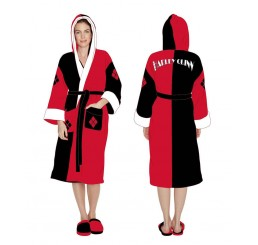 Harley Quinn Bathrobe/Dressing Gown
