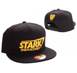 Iron Man Adjustable Cap Stark Yellow Logo