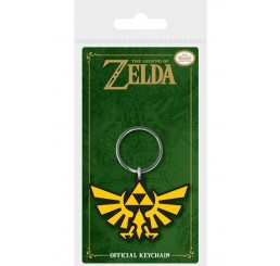 Legend of Zelda Triforce Rubber Keychain