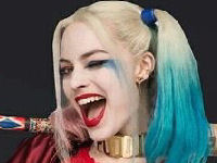 Harley Quinn merchandise, t-shirts, jewellery UK geek shop
