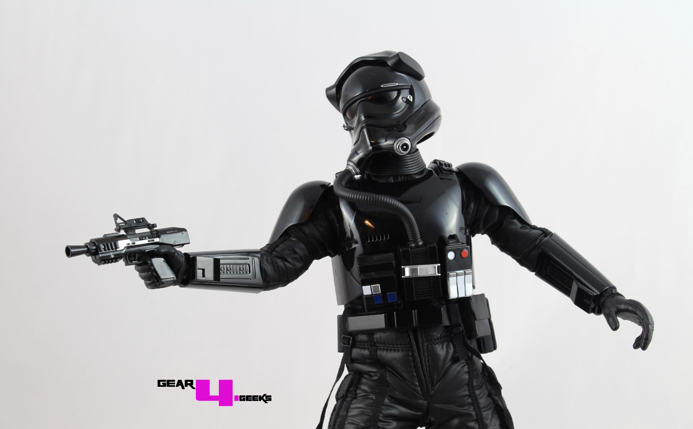 Hot Toys Star Wars Force Awakens First Order TIE Fighter Pilot Review